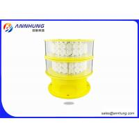 Wholesale Bridges LED Aviation Obstruction Light / Aircraft Warning Light With GPS Function from china suppliers
