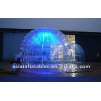 Wholesale Transparent Igloo Advertising Tent with LED Light from china suppliers