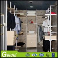 Wholesale Modern household laminate walk in wardrobe pole system for bedroom from china suppliers