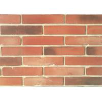 Quality 3D51-3 Clay Thin Veneer Brick Turned Color Veneer Brick With Smooth Surface Edge Damages Style for sale