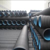 Wholesale High quality and cheap DN110mm black HDPE Corrugated water Pipe from china suppliers