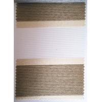Wholesale zebra roller curtain / zebra blinds fabric/ Jacquard zebra fabric 100% polyester zebra fabric white color black,red,blue from china suppliers