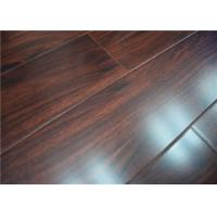 Wholesale U Bevel Dark Cherry Waterproof Laminate Flooring Glueless with Quick Lock from china suppliers