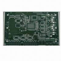 Buy cheap 10-layer PCB with 0.25mm Minimum Hole and Chemical Silver Surface Finish from wholesalers