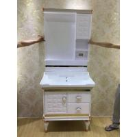 Wholesale Floor Standing PVC Bathroom Cabinet / Waterproof Bathroom Decoration Furniture from china suppliers