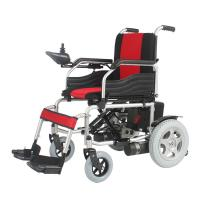 Buy cheap 250W Flip Up Armrest Folding Electric Wheelchair With ISO / TUV CE Certification from wholesalers