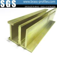 Wholesale Glossy Copper Extruded Series Brass Extruding Door and Window Frames from china suppliers