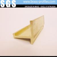 Wholesale Rustproof H Shapes Brass Extruding Profiles Supplier In China from china suppliers