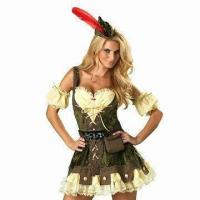 Wholesale Robyn Hood Costumes, Suitable for Women from china suppliers
