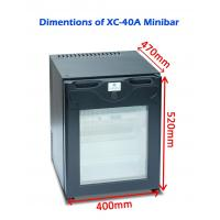 Wholesale Single Door Commercial Hotel Mini Bar Refrigerator Electric For Home / Car from china suppliers