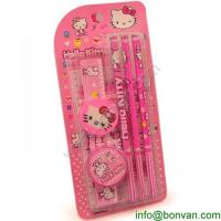 Wholesale HOT Sales funny drawing kids stationery set,Hello Kitty Stationery set from china suppliers