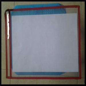 Wholesale Color PVC File Holder Shop Tickets Holder PVC Holder,paper holder. 13x10 inches from china suppliers