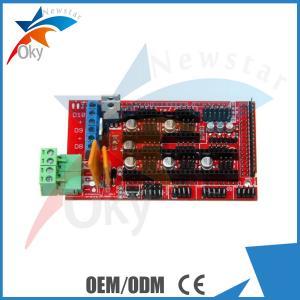 Wholesale Reprap Mendel Prusa RAMPS 1.4 3D Printer Control Board Fits 5 Pololu Stepper Driver Board from china suppliers