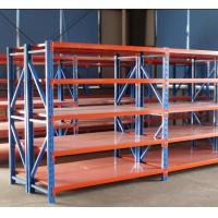 Quality Long Span Pallet Industrial Racks And Shelving Middle Duty Assembled Structure for sale
