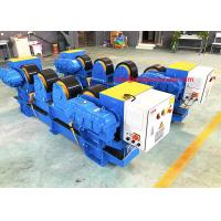 China 30Tons Conventional Pipe Welding Rollers Stands,Welding Pipe Support Rollers on sale