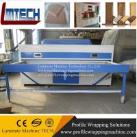 New modular design PVC kitchen cabinet door vacuum membrane press machine