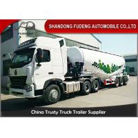 Wholesale 13 Ton 3 Axle Bulk Cement Tanker Trailer Three Axle Semi Trailer from china suppliers