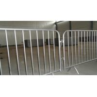 Quality Hot Dipped Galvanized Steel Metal Frame Temporary Safety Fence for sale
