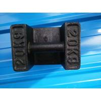 Wholesale Cast Iron Test Weights Weighing Scale Parts 10kg 20kg 25kg 100kg 500 Kg 1000kg from china suppliers