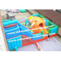 Wholesale Big Tiger 0.55mm PVC Tarpaulin Inflatable Jumping Castle Playground Amusement Park from china suppliers