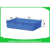 Wholesale Logistics Stackable Storage Bins Non - Slip , Industrial Stacking Storage Boxes from china suppliers