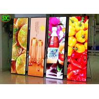 Buy cheap P2.5 indoor shop window advertising led mirror video screen / led totem poster display from wholesalers