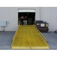 Wholesale 1.8m Max Height mobile loading yard ramp with 5ton Rated Capacity from china suppliers