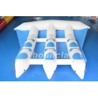 Wholesale Blue Inflatable Banana Boat Towable Inflatable Flying Fish Tube For Sea from china suppliers