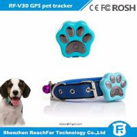 Buy cheap Newest product imei number tracking online waterproof pet gps tracker with smart LED lgihts from wholesalers
