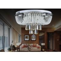 Wholesale Modern Round Crystal Ceiling Lights 30w LED For Dining Room / Living Romm Decoration from china suppliers