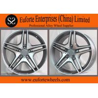 Wholesale Benz C63 Gunmetal Machined Face 18 Inch 19 Inch 20 Inch OEM Replica Wheels from china suppliers