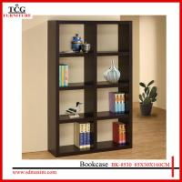 Wholesale new modern designed wooden white bookcase from china suppliers