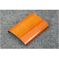 Wholesale aluminum price per ton aluminum manufacture wood grain aluminum profile from china suppliers