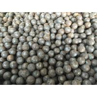 Wholesale Grade 45 , 60Mn , B2 Forged Steel Ball 20mm to 110mm For Grinding Mine and Ore from china suppliers