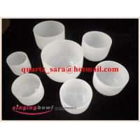 China Arts and Crafts high purity manufacturer direct frosted singing bowl one set from 6inch to 12inch on sale