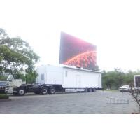 Wholesale Outdoor Big Container Truck LED Screen for Advertising , Trailer led display from china suppliers