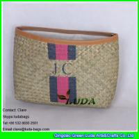 Wholesale LUDA 2016 summer lady fashion seagrass straw clutch bag natural purse from china suppliers