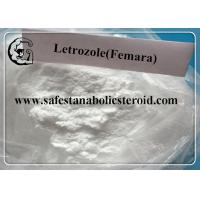 Wholesale Femara Oral Anabolic Steroids Letrozole For Breast Cancer Treatment CAS 112809-51-5 from china suppliers