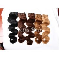 Wholesale Multi Colored Real Brazilian Human Hair Extensions With Soft And Luster from china suppliers