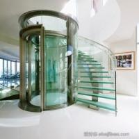 Wholesale Glass Residential Elevators / House Elevator Lift With Capacity Range 320KG-400KG from china suppliers