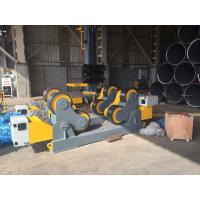 Quality 60T Loading Capacity Self Aligment Seam Welding Turning Rolls With VFD Rotary for sale