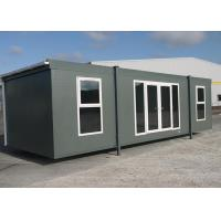 Wholesale Safe Secure Temporary House With Windows / Movable Sandwich Panel Container from china suppliers