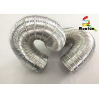 Wholesale 3m Length Silver Expandable Insulated Flexible Semi Rigid Aluminum Pipe from china suppliers