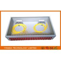 """Wholesale 2U Rack Patch Panel Metal FC ST , 48 Ports Fiber Optic Patch Panel 19"""" ODF Fully Load from china suppliers"""