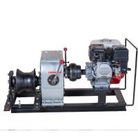 Wholesale Fast Speed 3 Ton Cable Winch For Power Construction With Honda Engine from china suppliers