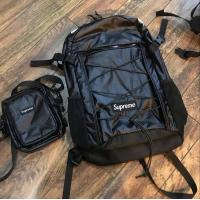 Wholesale supreme 17ss bags sports bag travelling bag high-capacity crossbody bag   camouflage Messenger bags from china suppliers