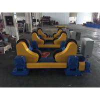 Quality Rubber Wheels Tank Turning Rollers For Pipe , Loading Maximum To 40 Ton for sale