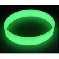 Wholesale custom glow in the dark silicone bracelet ,luminous silicone wristband price from china suppliers