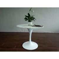 Wholesale Replica Modern Furniture Fiberglass Coffee Table / White Tulip Table from china suppliers