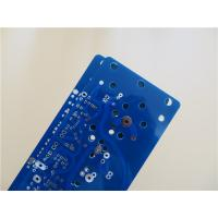 Wholesale 4 Oz Copper Power Supply Board Built On 2.0mm thick FR-4 With blue soldermask from china suppliers